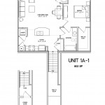 1 Bedroom 1 Bath 802 sq ft $ Call For Pricing