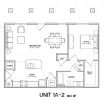 1 Bedroom 1 Bath 804sqft
