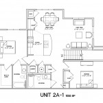 2 Bedroom 2 Bath - 1055sqft