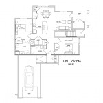 2 Bedroom 2 Bath w/garage 1023 sq ft $ Call For Pricing