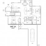 2 Bedroom 2 Bath w/ Garage 1024sqft