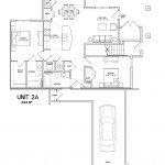 2 Bedroom 2 Bath w Garage 1024sqft